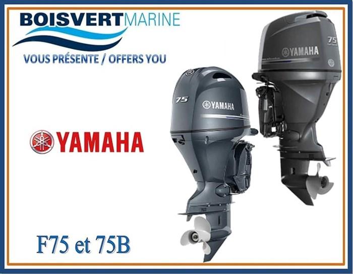 2019 Yamaha F75 et F75B Photo 1 of 1