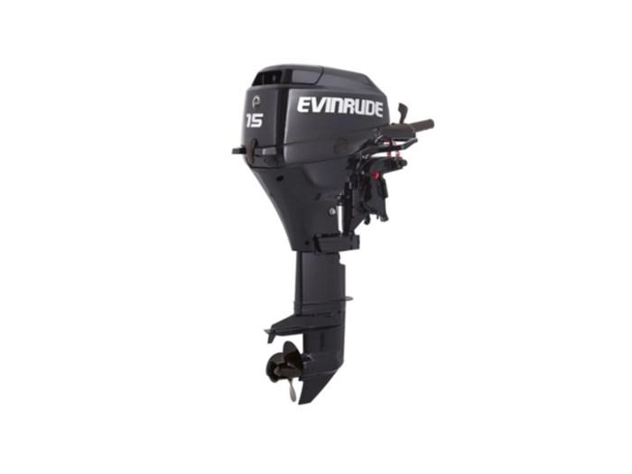 2018 Evinrude Portables 15 HP E15RGL4 Graphite Photo 1 of 1