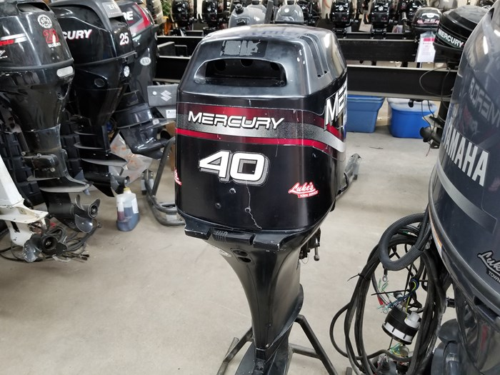 2004 Mercury 40 HP Outboard Photo 3 of 4