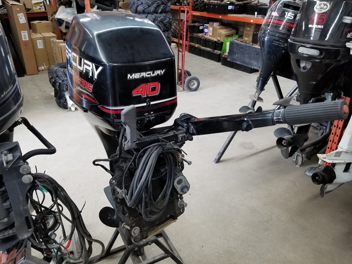 2004 Mercury 40 HP Outboard Photo 4 of 4