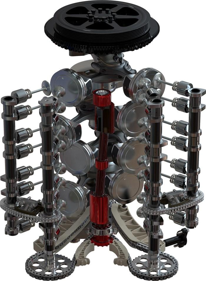 2021 Mercury 300CXXL V-8 Verado 4-Stroke Warm Fusion Photo 14 of 21