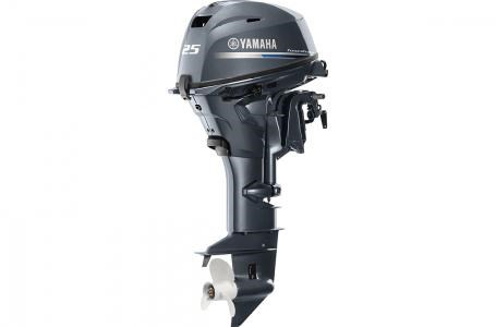 2019 Yamaha F25C - 15 in. Shaft Photo 3 of 6