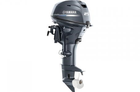 2019 Yamaha F25C - 15 in. Shaft Photo 5 of 6