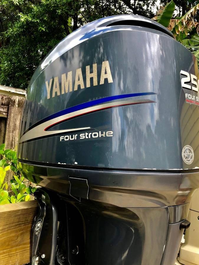 2005 Yamaha F250 Photo 5 of 11