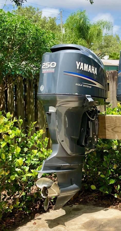 2005 Yamaha F250 Photo 7 of 11