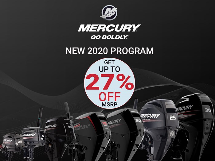 2020 Mercury 9.9 EH 4- Stroke Photo 1 of 5
