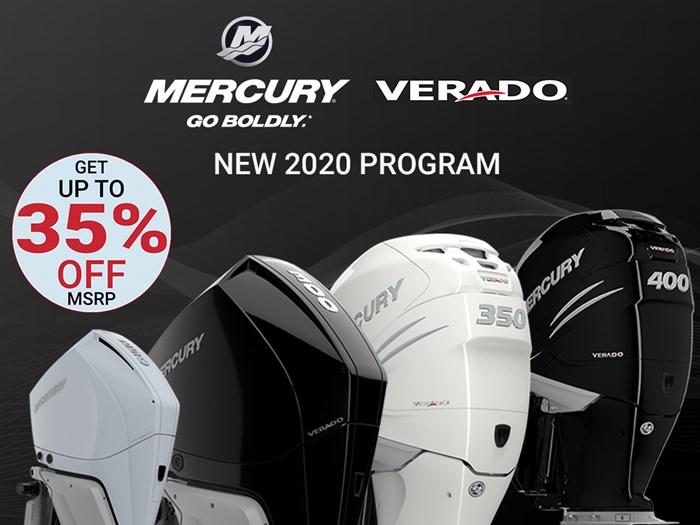 2020 Mercury 350XL Verado 4-Stroke Cold Fusion Photo 1 of 15