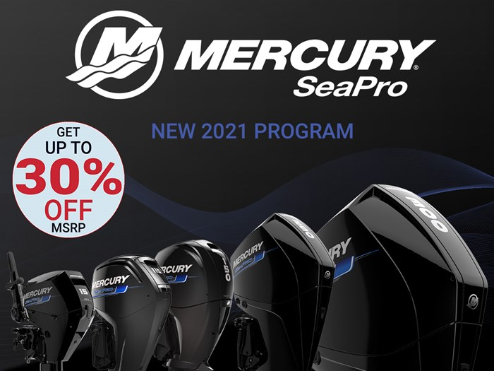 2021 Mercury 225XL V-8 4-Stroke SeaPro Commercial Outboards Photo 1 of 23