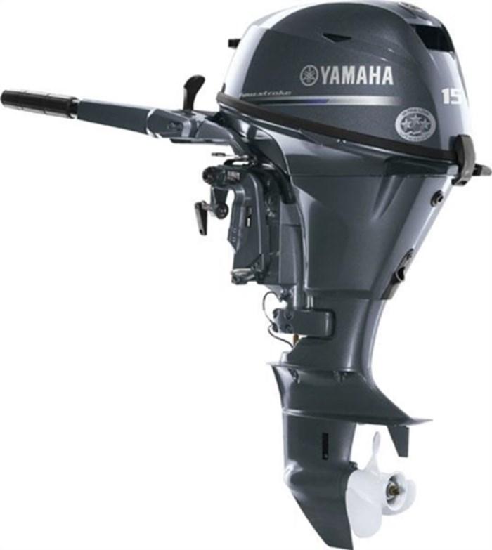 2019 Yamaha 15 4-Stroke F15SEHA - $39 BI-WEEKLY, OAC Photo 1 of 1