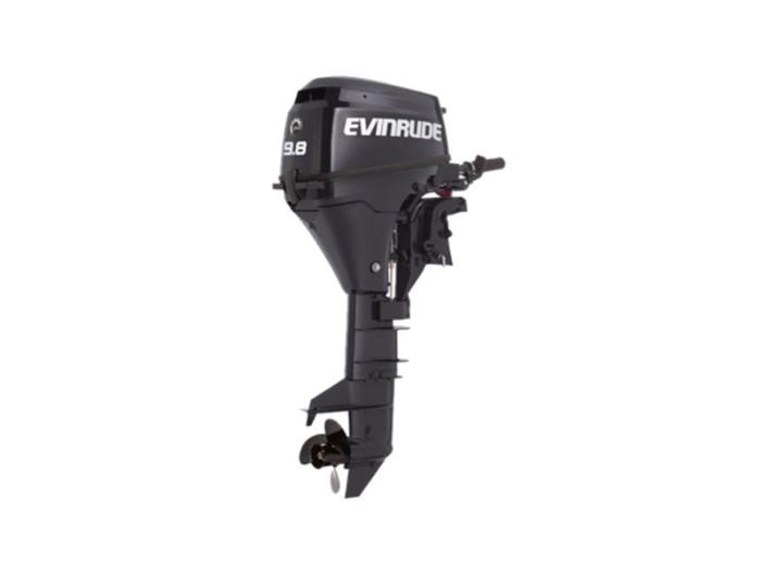 2018 Evinrude Portables 9.8 HP E10RG4 Graphite Photo 1 of 1