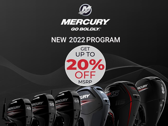 2022 Mercury 50ELPT FourStroke Photo 1 sur 6
