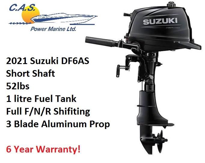 2021 Suzuki DF6AS Photo 1 of 4