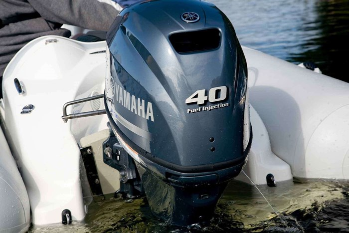 2021 Yamaha F40LEHA Photo 2 of 3