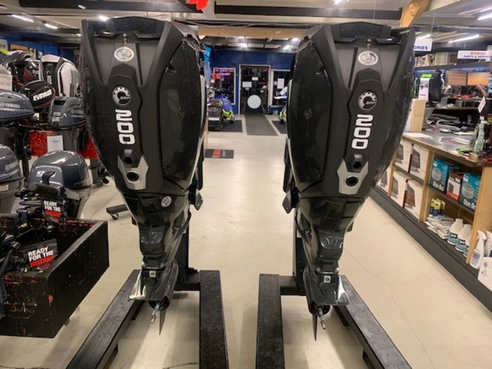 2020 Evinrude Twin 200 iDock Package Photo 3 sur 5