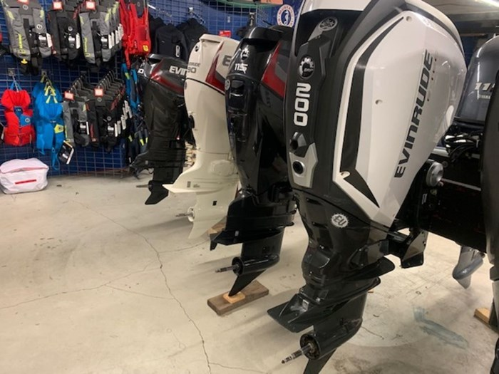 2020 Evinrude Twin 200 iDock Package Photo 4 sur 5