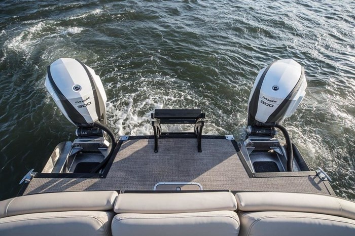 2020 Evinrude Twin 300 iDock Package Photo 1 sur 3