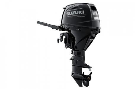 2021 Suzuki DF25AES - Black Photo 2 of 4